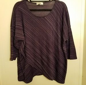Dressbarn purple tunic size 2X